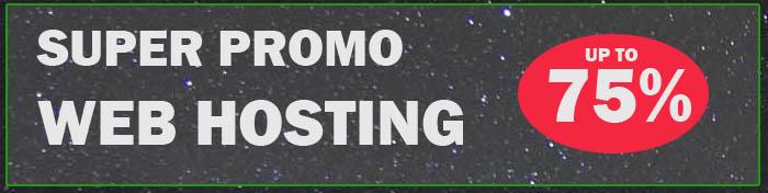 Promo Webhosting 2020