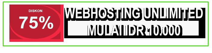 Promo Web Hosting 2020